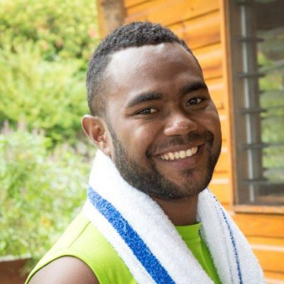 George, part of the Daku Resort team.