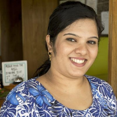 Joshika, part of the Daku Resort team.